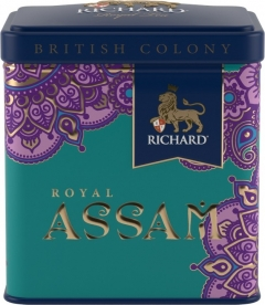 Чай Richard British Colony Royal Assam 50г. жесть 1/12 Ричард