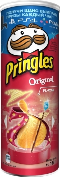 Чипсы Pringles Original Gaming 165гр./19шт. Принглс