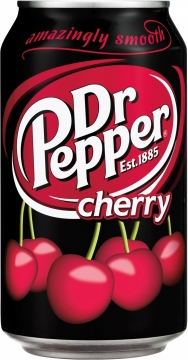 Dr. Pepper Cherry USA 0,355л./12шт. Доктор Пеппер