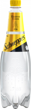Швепс индиан тоник 0,9л./12шт. Schweppes Indian Tonic