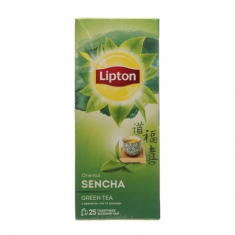 Липтон ЗЕЛЕНЫЙ АРОМАТИЗ ORIENTAL SENCHA GREEN TEA 25ПАКX1.6Г