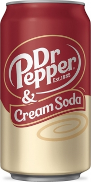 Dr. Pepper & Crem Soda 0,33л./12шт. Доктор Пеппер