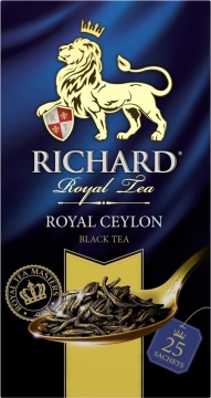 Чай Richard Royal Ceylon 25х2 черный 1/12 Ричард