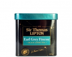 Sir Thomas Lipton Чёрн. Ароматиз Earl Grey Finesse Листов 100Г  Липтон
