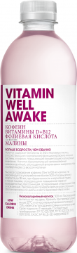 Vitamin Well Awake 0,51л./12шт. Витамин Вэлл