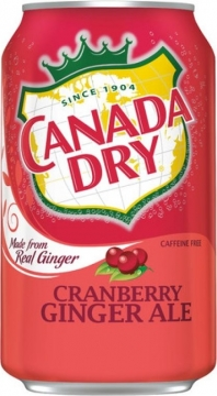Canada Dry Cranberry 0,355л./12шт. Канада Драй