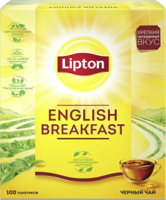 Липтон Чёрн. ENGLISH BREAKFAST TN 100SX2G