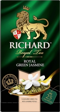 Чай Richard  Royal Green Jasmine   зеленый 25x2гр 1/12 Ричард