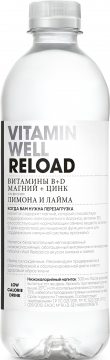 Vitamin Well Reload 0,51л./12шт. Витамин Вэлл