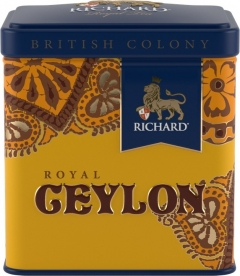 Чай Richard British Colony Royal Ceylon 50 г. жесть 1/12 Ричард