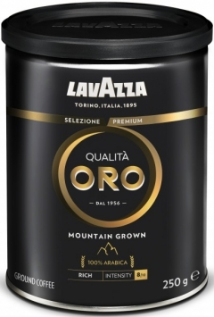 Кофе Лавацца Оро Маунтин Гроун натуральн. мол. ж/б 250гр. Lavazza Qualita OROMountain Grown