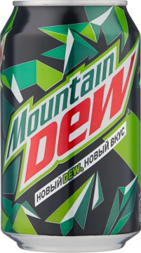 Маунтин Дью цитрус 0,33л./12шт. Mountain Dew
