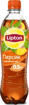 Липтон 0,5л. Персик 12шт. Lipton Ice Tea