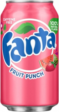 Fanta Fruit Punch 0,35л./12шт. Фанта
