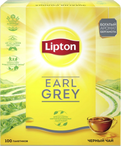 Липтон EARL GREY TN 100SX2Г