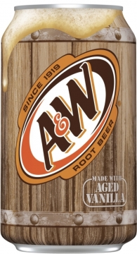 A&W Root Beer 0,35л./12шт.