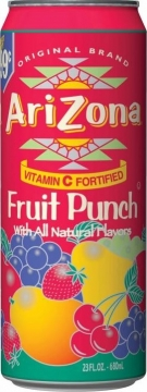 Arizona fruit punch 0,35л./30шт. Аризона