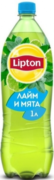 Липтон лайм-мята 1л./12шт. Lipton Ice Tea