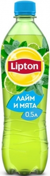 Липтон 0,5л. Лайм-мята 12шт. Lipton Ice Tea