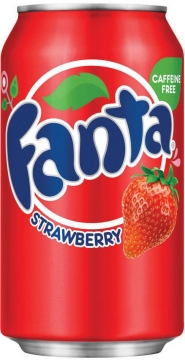 Fanta Strawberry 0,35л./12шт. Фанта