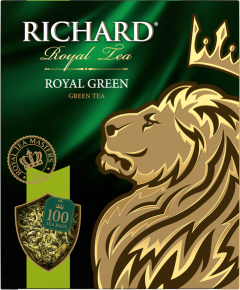 Чай Richard Royal Green 100х2 зеленый 1/6 Ричард